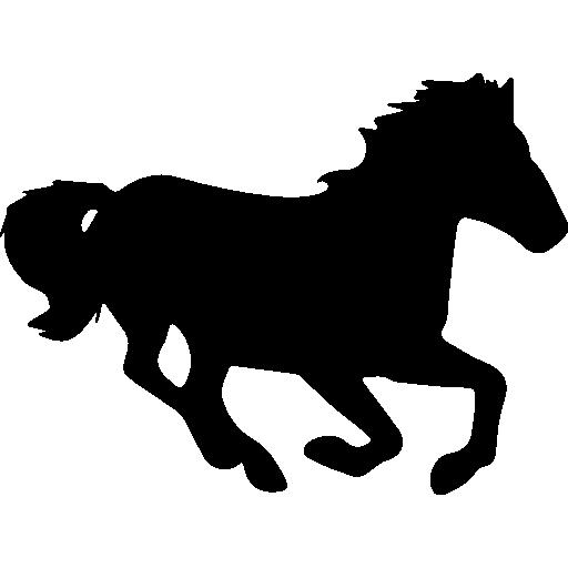 512x512 Horse Silhouette Icon