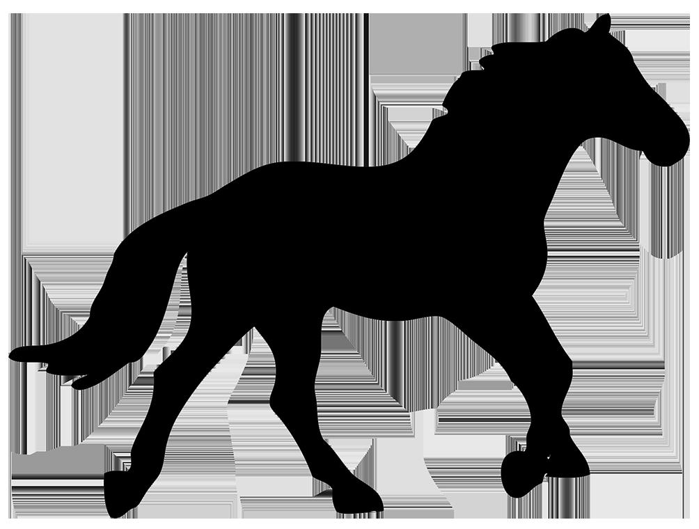 1004x760 Horse Silhouette