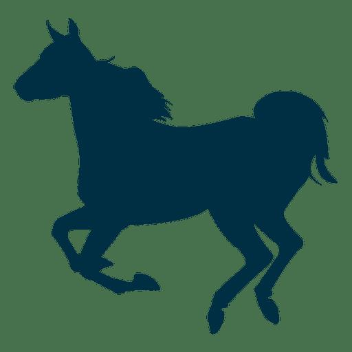 512x512 Running Horse Silhouette