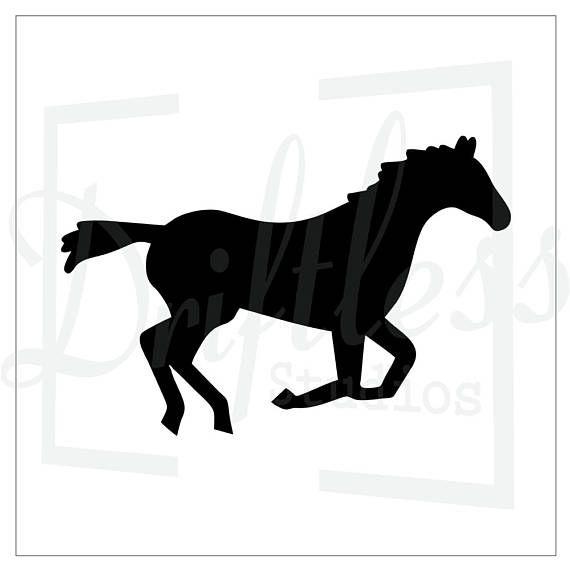 570x570 The Best Horse Stencil Ideas Horse Silhouette