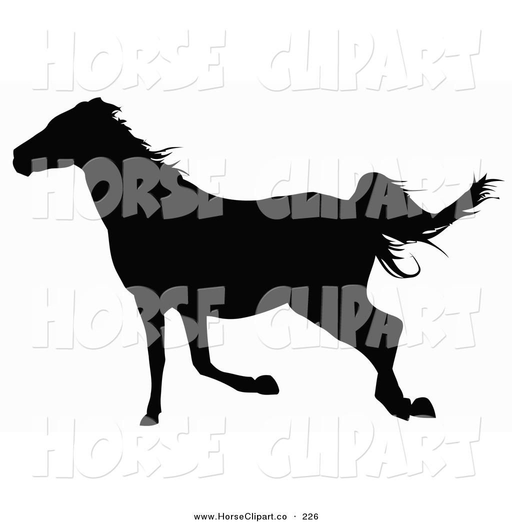 1024x1044 Horse Silhouettes