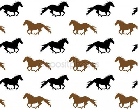 450x358 Horses Running Stock Vectors, Royalty Free Horses Running