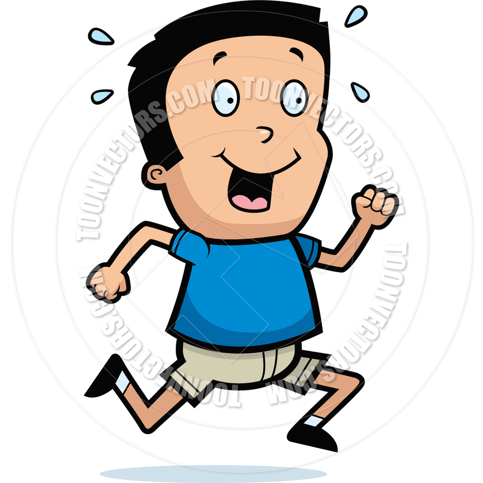 940x940 Cartoon Boy Running By Cory Thoman Toon Vectors Eps