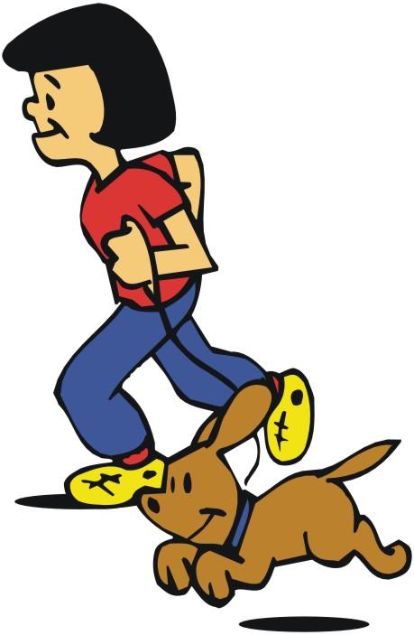 459x703 Cartoon Dog Running
