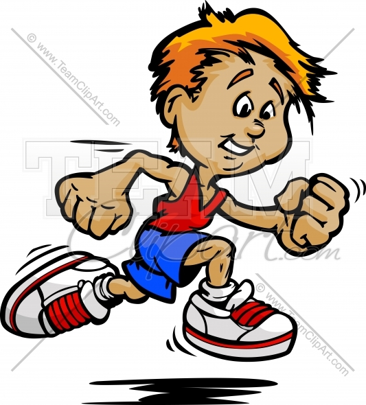 533x590 Running Kid Clipart Clipart Image. Easy To Edit Vector Format.