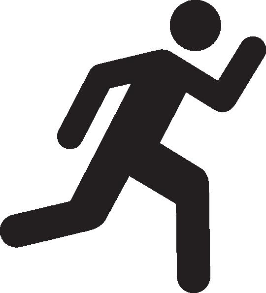 540x595 Person Running Runner Free Running Clip Art Clipartllection