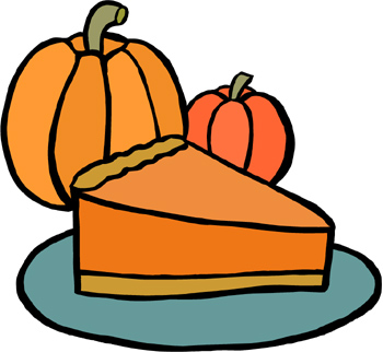 350x322 Pumpkin Pie Clipart