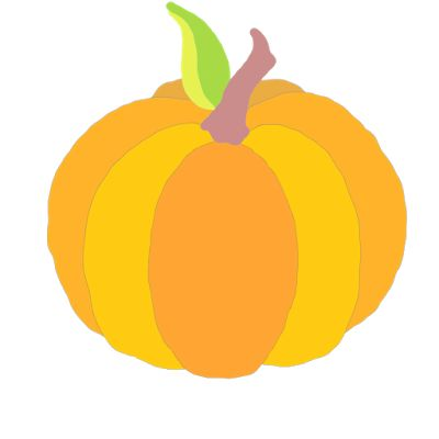 400x400 55 Best Free Hand Drawn Digital Pumpkin Clip Art Images