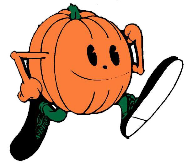596x536 Running Pumpkin Clipart Fun For Christmas