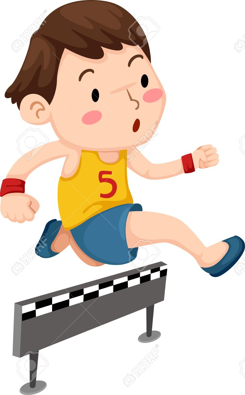 808x1300 Image Result For Children Jumping Hurdles, Clipart Running