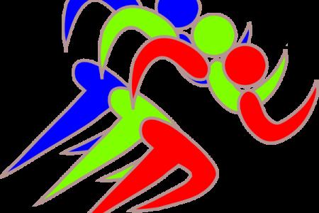 450x300 Runner Girl Running Race Clipart Free Images
