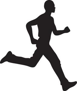 254x300 Running Clip Art