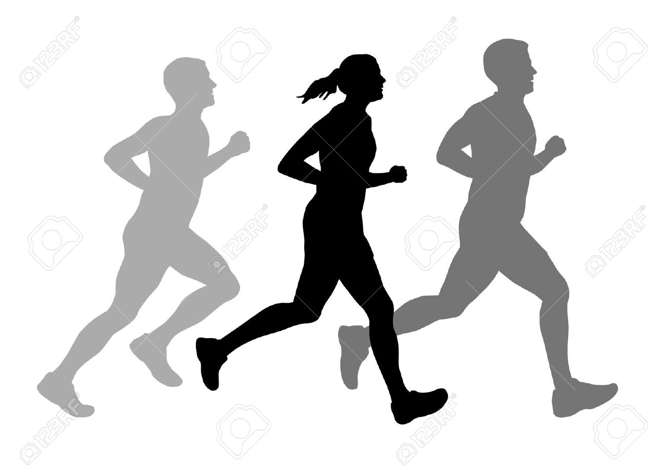 1300x910 Running People Clipart, Explore Pictures