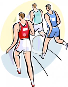 272x350 Sport Clipart Running Race