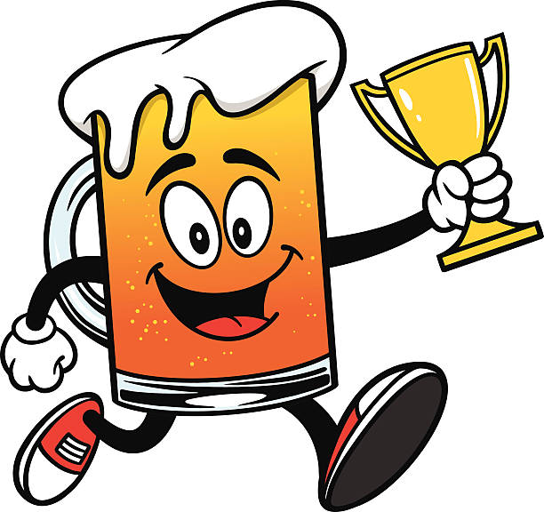612x576 Trophy Clipart Running Race