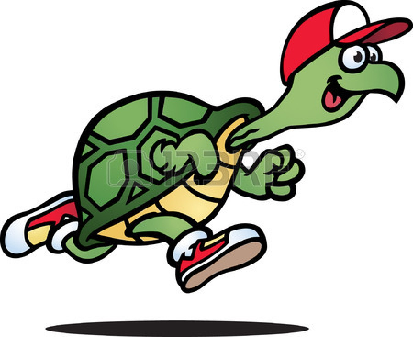 1350x1101 Turtle Race Clipart