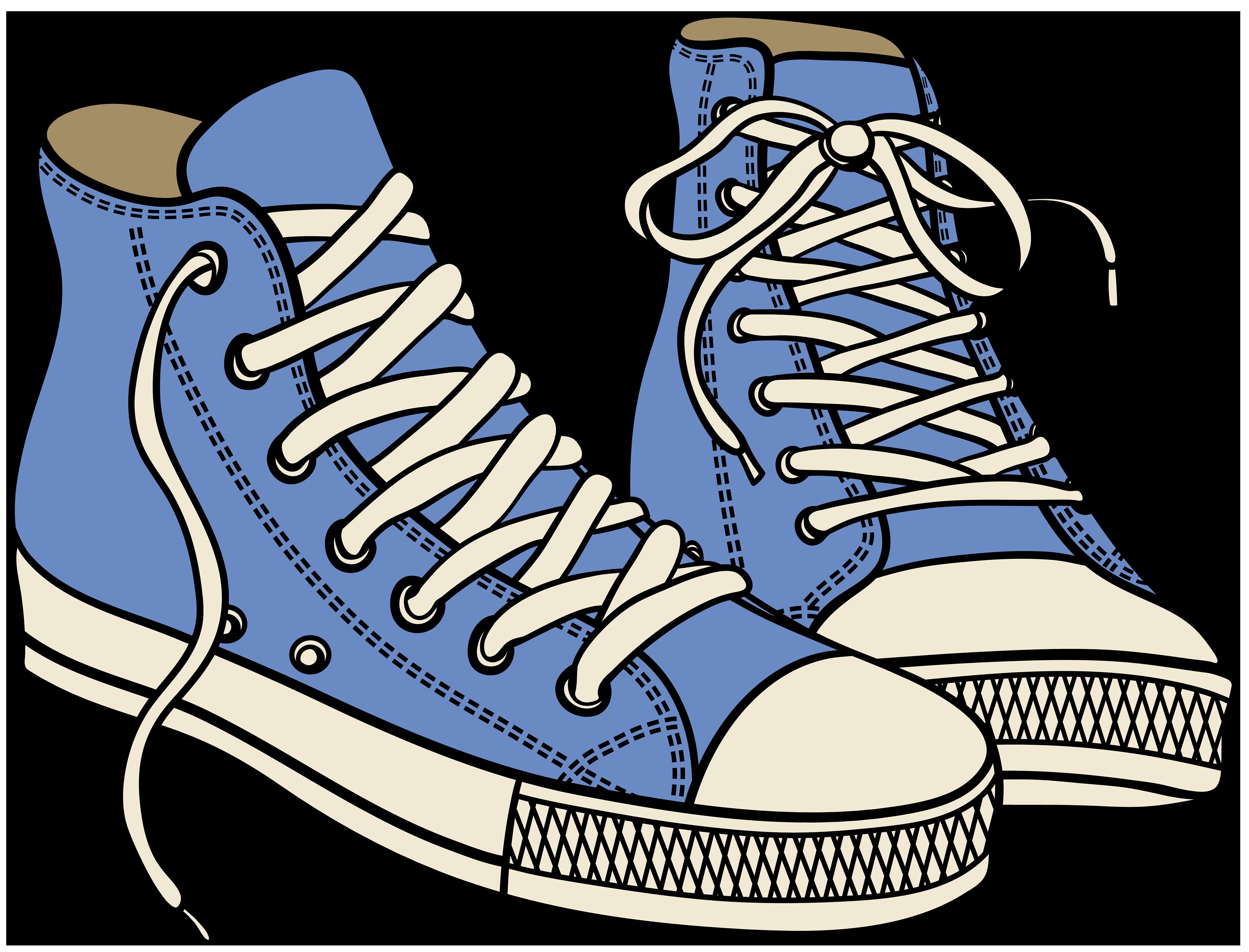 4000x3051 Blur Clipart Running Shoe