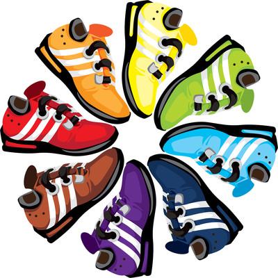 400x400 Gym Shoes Clipart Running Club