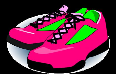 470x300 Pair Of Running Shoes Clipart Footwearpedia Image