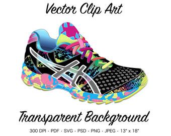 340x270 Running Shoe Clipart Etsy