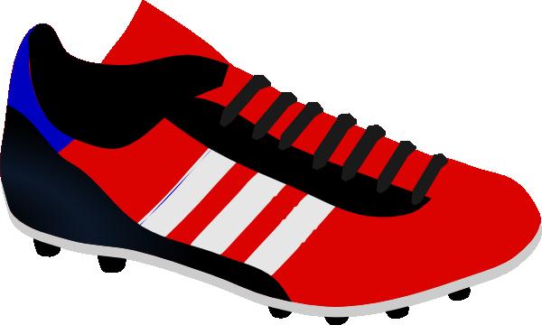600x360 Soccer Shoe Clip Art