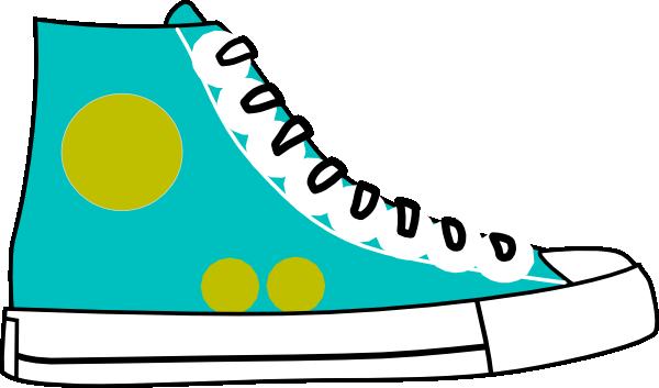 600x353 Tennis Shoes Clipart