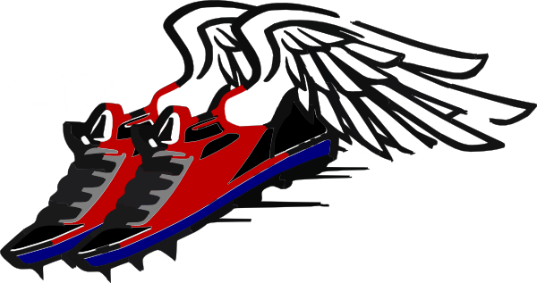 600x317 Track Shoe Running Shoes Clipart Running Shoes Clipart Running