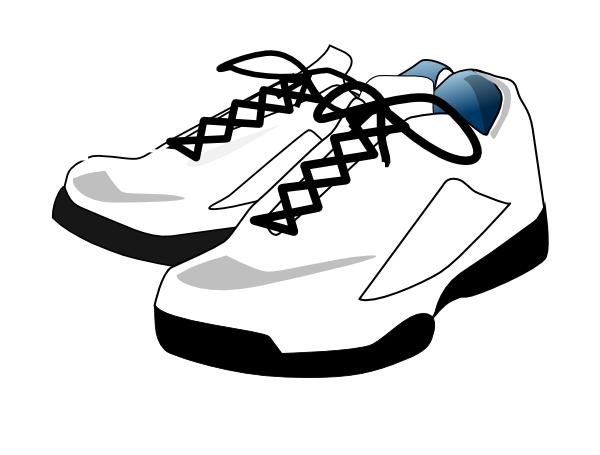 600x455 Clip Art Tennis Shoes Clipart