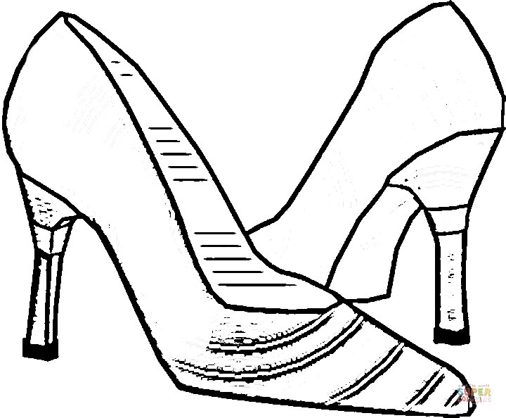 720x594 Italian Shoes Coloring Page Free Printable Coloring Pages
