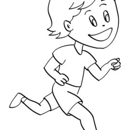 268x268 Running Coloring Pages Running Shoes Coloring Page Useful As