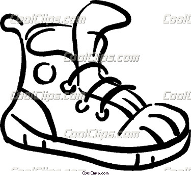 375x343 Running Shoes Clipart Clipart Panda