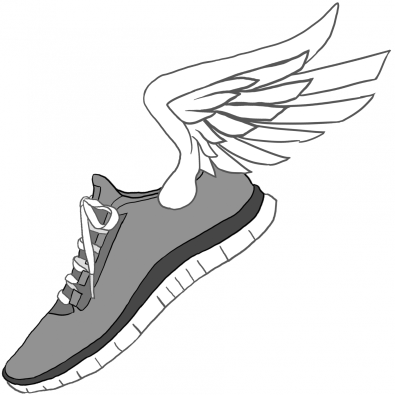 790x790 Shoes Alluring Nike Running Shoes Drawing 4 Nike Running Shoes
