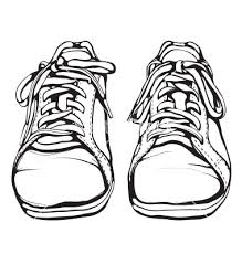 219x230 Draw Shoes Front View