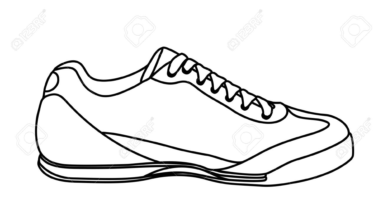 1300x758 Shoes Sketch