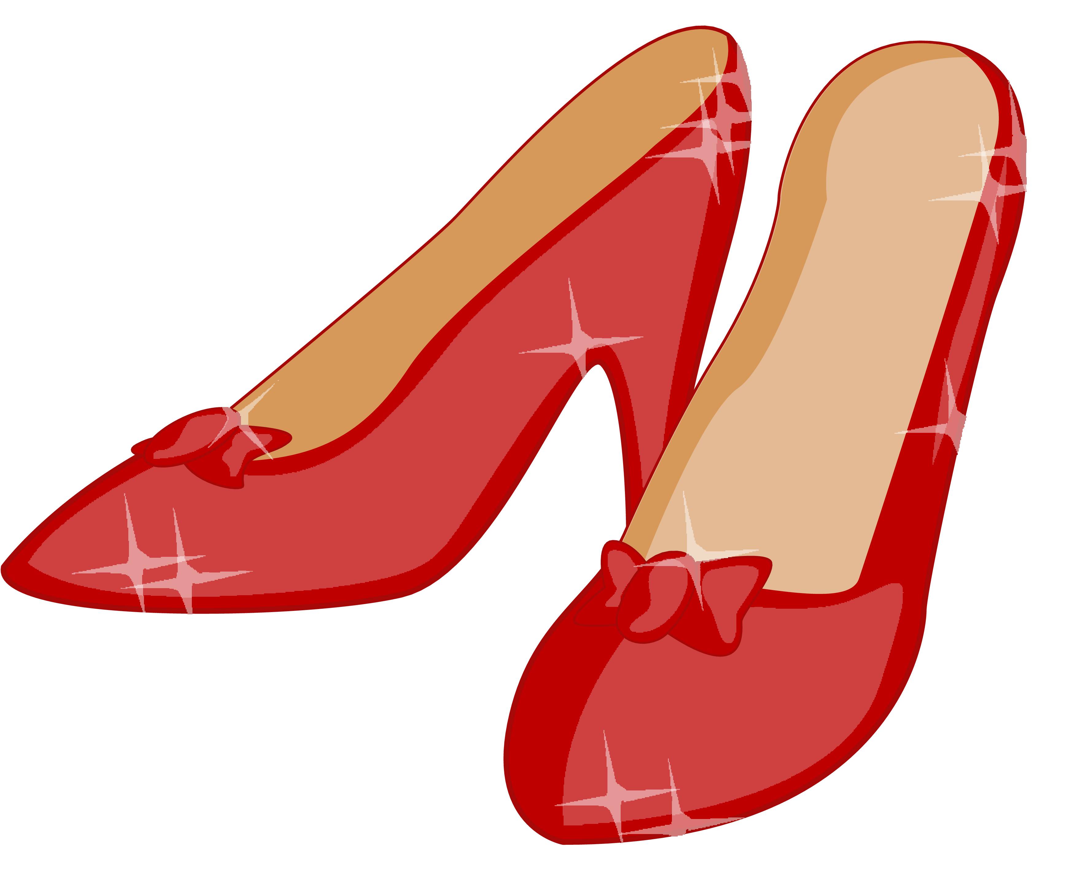 3538x2870 Red Shoes Clipart Kid 2