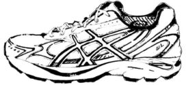 272x125 Shoes Running Sneakers Clip Art Clipart Sneaker Rainreklam