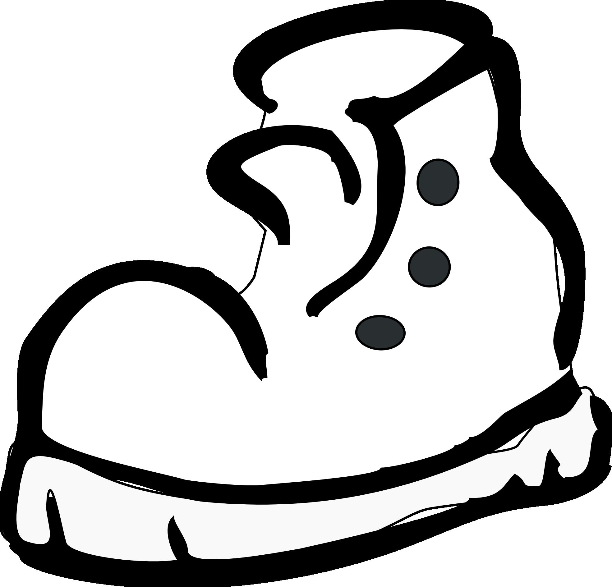 1969x1889 Running Shoe Telephone Clip Art Image