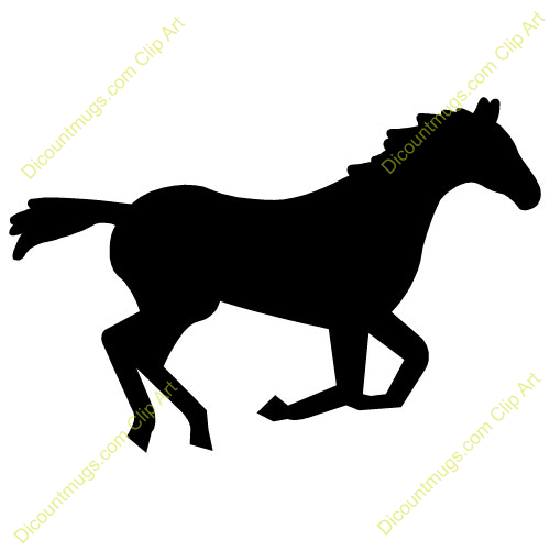 500x500 Mustang Horse Clip Art Many Interesting Cliparts