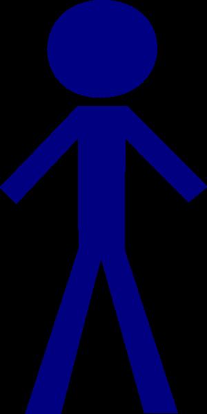 300x598 Human Clipart Stick Figure