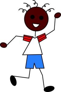 201x300 Boy Cartoon Clipart Image