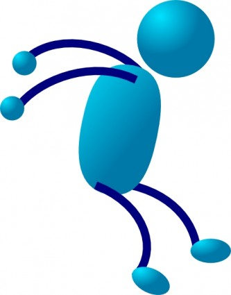 333x425 Cartoon Stick Figure Clip Art Clipart Image
