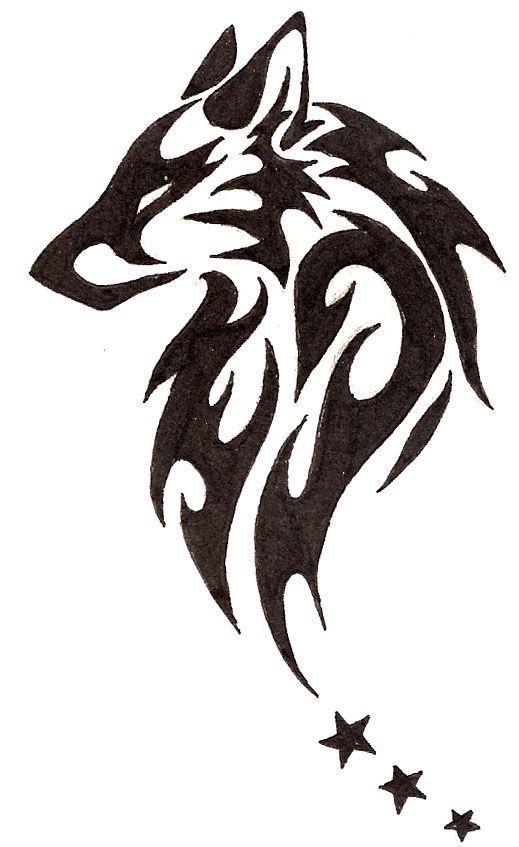 94cec910f Running Wolf Tattoo Clipart | Free download best Running Wolf Tattoo ...