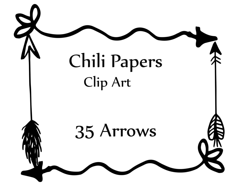 Rustic Arrow Cliparts