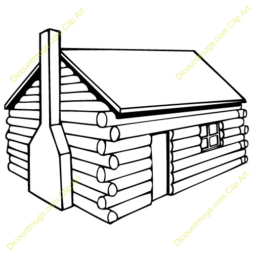 500x500 Log Cabin Clip Art Happy Log Cabin Day! Log Cabins