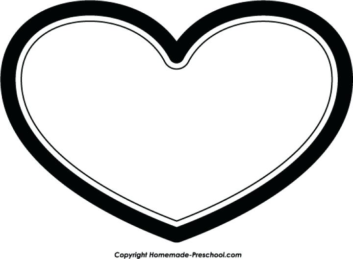 720x529 Clipart Heart Heart Border Black And White For Heart Border Black