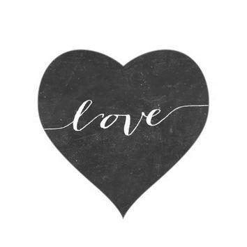 354x354 Hearts Clipart Chalkboard