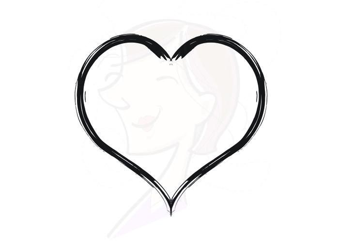 700x509 Hearts Clipart Rustic Heart