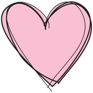 300x300 Love Heart Clipart