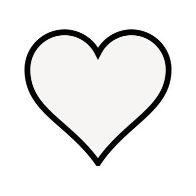 400x400 Clip Art Heart Outline Free Clipart Images 2