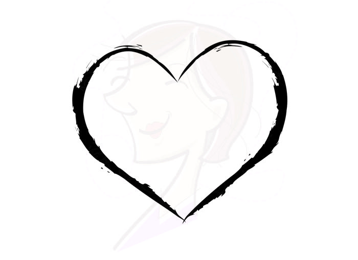 700x509 Rustic Clipart Rustic Heart